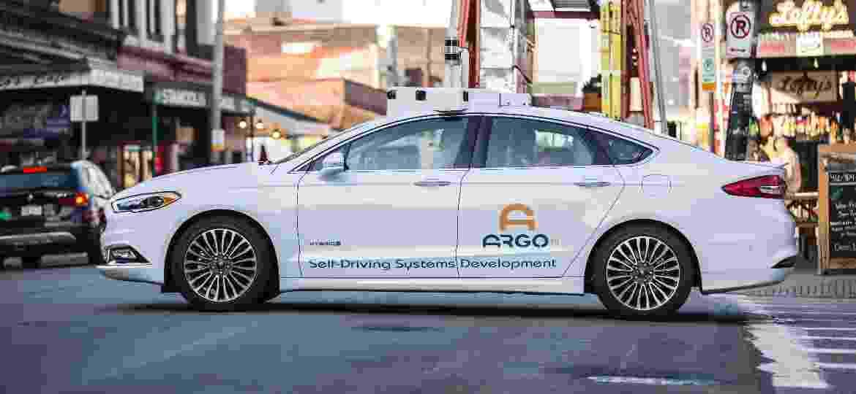 Ford Argo AI Focus carro autônomo - Divulgação