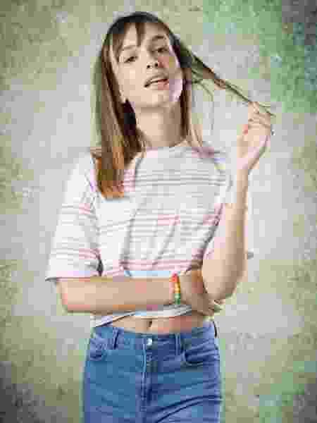 Michelly (Gabrielle Joie) é adolescente de personalidade forte em Bom Sucesso - João Cotta/Globo