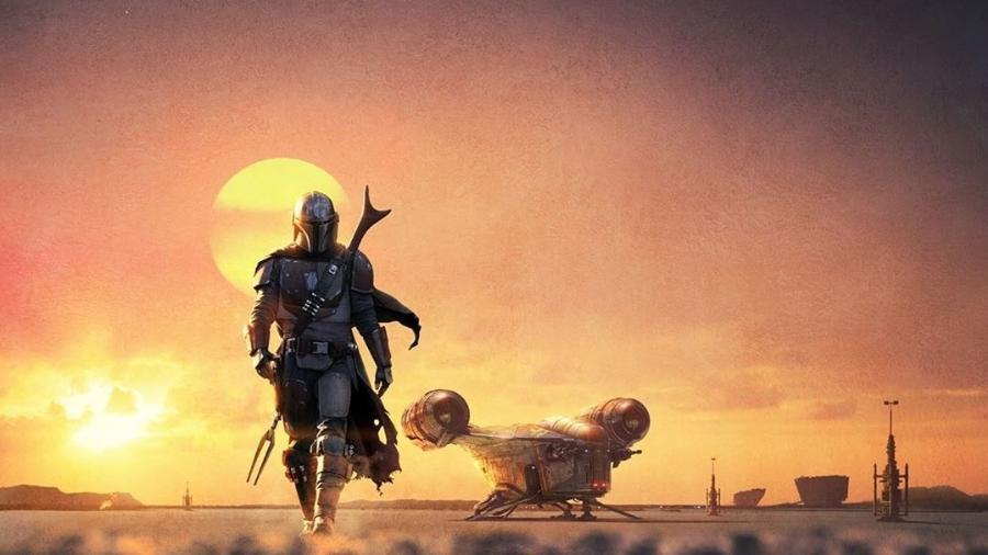 """Cartaz de """"The Mandalorian"""", série de """"Star Wars"""" que estreia em novembro - Reprodução"""