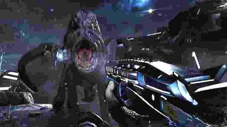 Ficção científica e terror combinam bem até demais - Reprodução