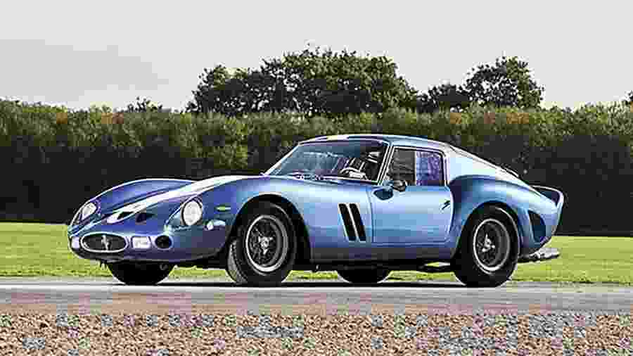 Ferrari 250 GTO 1962 é tida como um dos automóveis mais caros do mundo; esportivo foi vendido sem o câmbio original - Reprodução