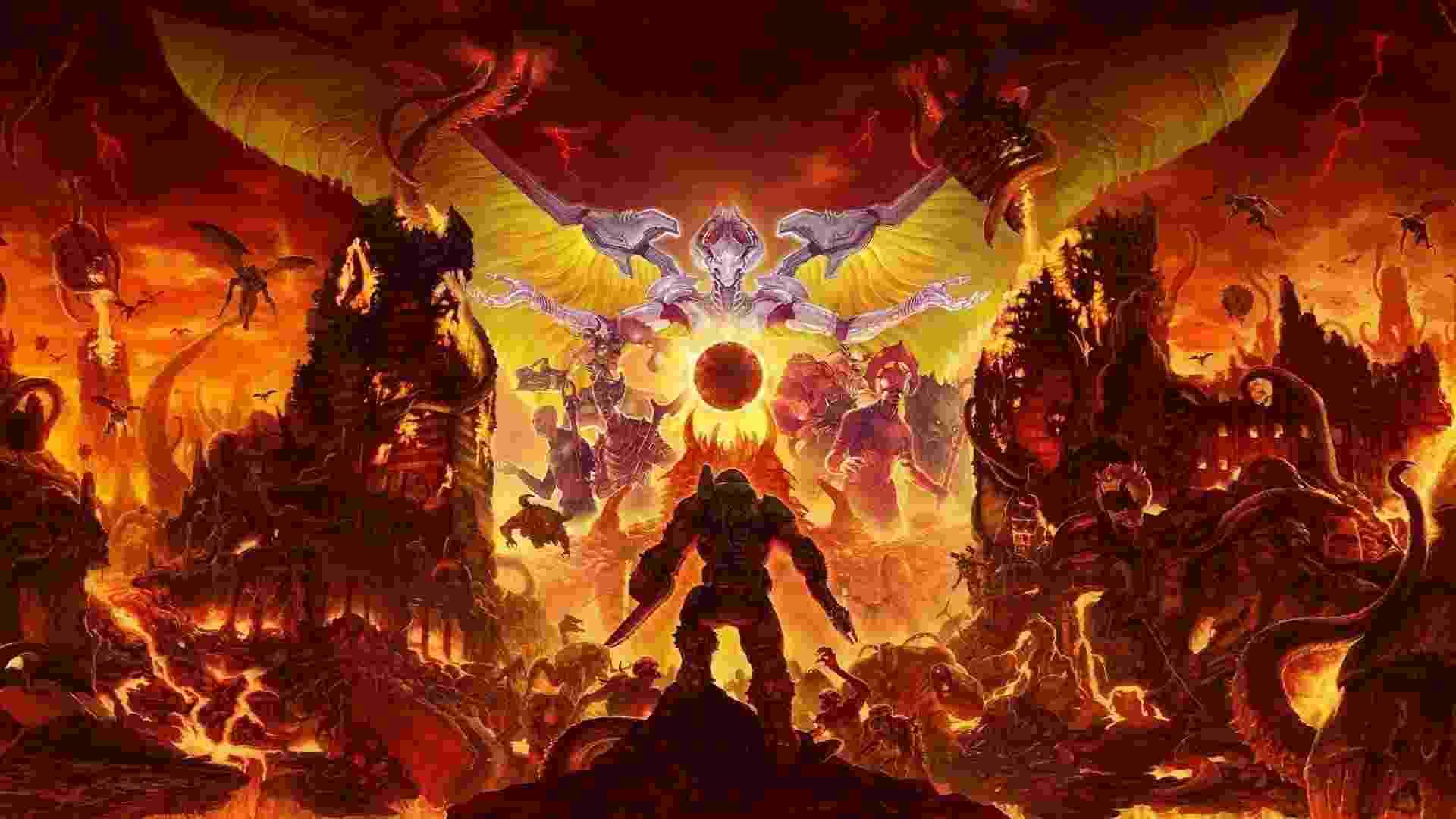 Doom Eternal - Reprodução