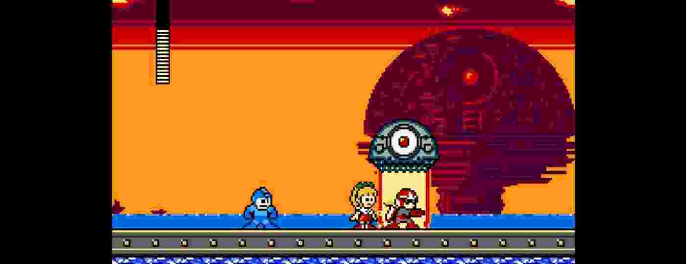 """""""Mega Man Rock N Roll"""" é um jogo grátis feito pelo alemão Dennis Engelhard, de 37 anos - Reprodução"""