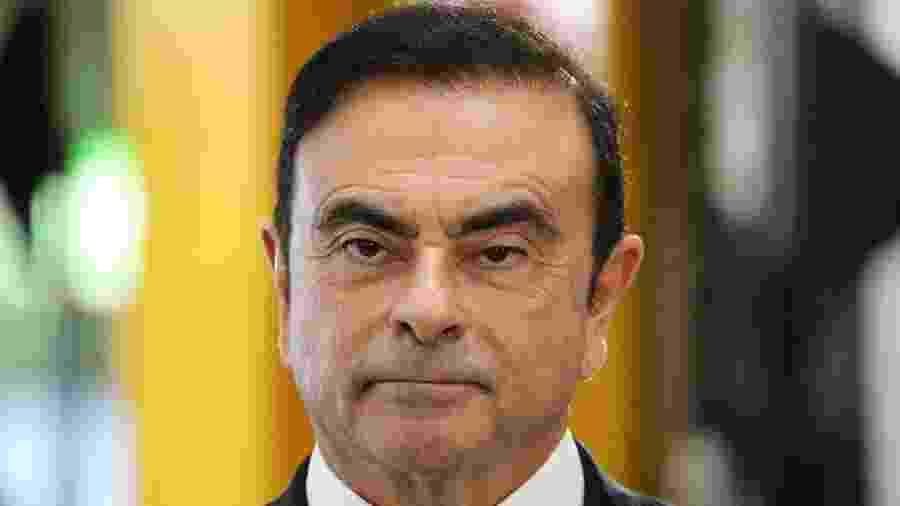 Carlos Ghosn, ex-CEO da aliança Renault-Nissan - Ludovic Marin/AFP