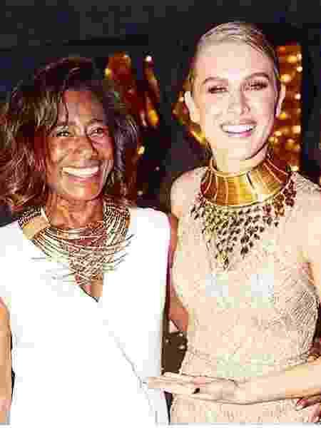 Gloria Maria e Fiorella Mattheis - Reprodução/Instagram