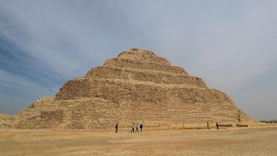Pirâmide de Djoser, no Egito - Mohamed El-Shaned / AFP