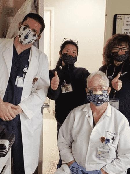 Máscaras doadas pelo Sindicato de Figurinistas de Hollywood (CDG) - Reprodução / Instagram