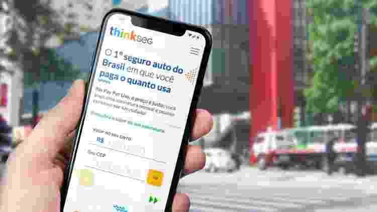 App do seguro Thinkseg - Divulgação - Divulgação