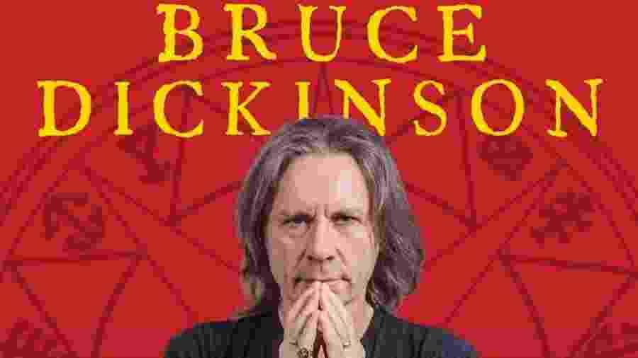 Evento com Bruce Dickinson acontece em dezembro de 2021 - Divulgação