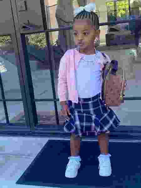 A filha de Cardi B, Kulture, tem 2 anos de idade - Instagram/@kulturekiari