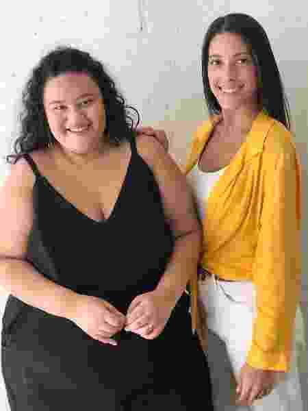 Rayane e Mariana criaram o Gorda na Lei - Divulgação