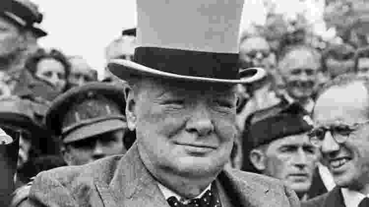 Winston Churchill - Bettmann Archive - Bettmann Archive