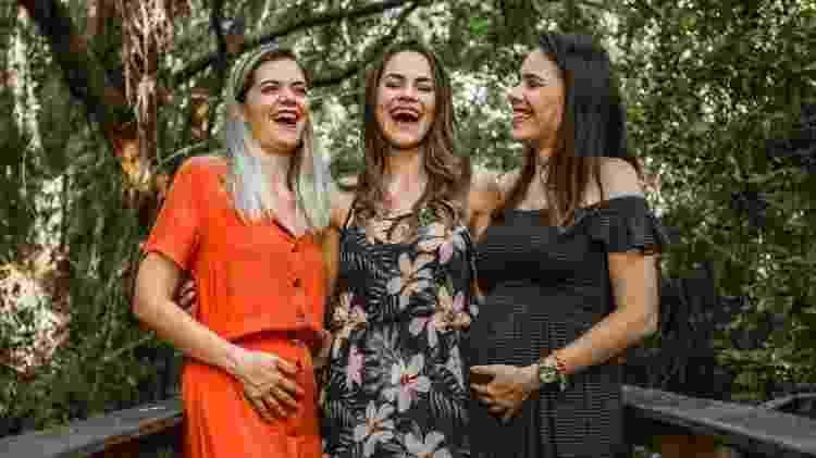 Irmãs grávidas - Marcela Sampaio/Divulgação - Marcela Sampaio/Divulgação