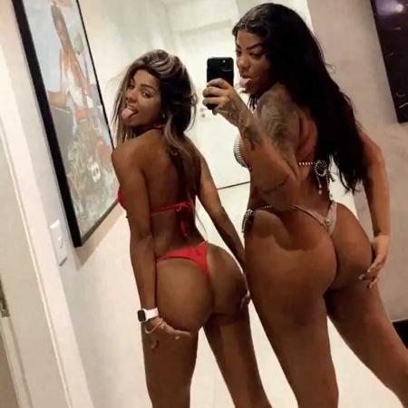 Ludmilla e Brunna Gonçalves são elogiadas após post - Reprodução/Twitter