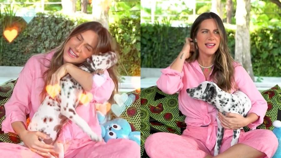 Giovanna Ewbank mostrou a nova cachorrinha da família - Reprodução/Instagram