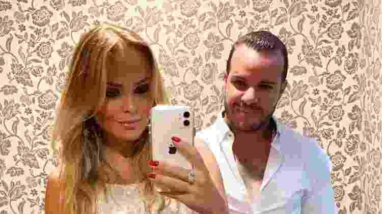 Filipe Duarte e Nina Cachoeira - Reprodução/Instagram - Reprodução/Instagram