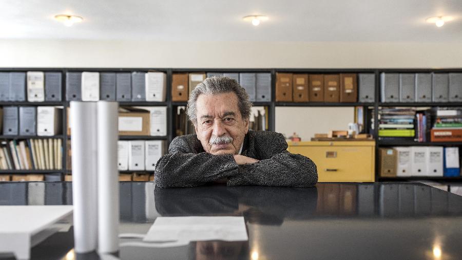O arquiteto Paulo Mendes da Rocha, que morreu de câncer de pulmão aos 92 anos - Eduardo Knapp/Folhapress