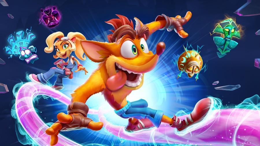 Crash Bandicoot 4 exige que você cumpra 106% do jogo... para ver um teaser do próximo - Divulgação/Activision