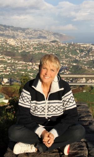 Xuxa apresenta matéria na Ilha da Madeira, em Portugal