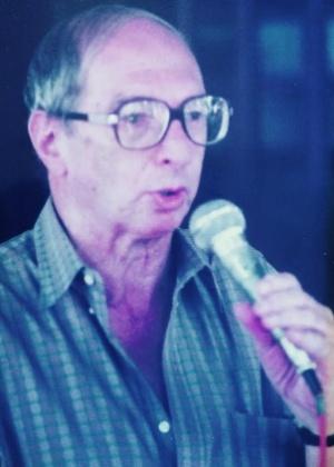 """O compositor Alberto Roitman, mais conhecido como Alberto Roy, um dos autores da """"Marcha do Caneco"""""""