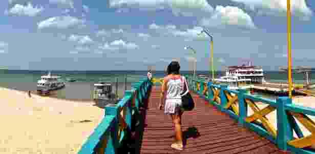 Píer de Alter de Chão, no Pará - Mari Pini/UOL - Mari Pini/UOL