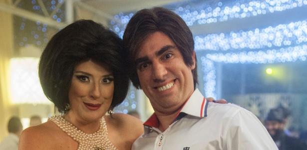 Adnet reafirmou em rede nacional o amor que sente pela sua mulher, Dani Calabresa - Pedro Curi/TV Globo