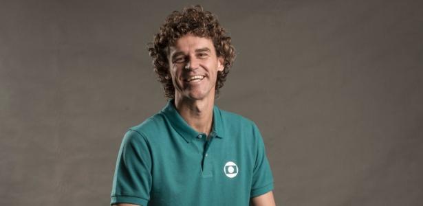 Guga Kuerten caiu no gosto do telespectador da Globo e vai passar muito tempo na tela - Divulgação/TV Globo