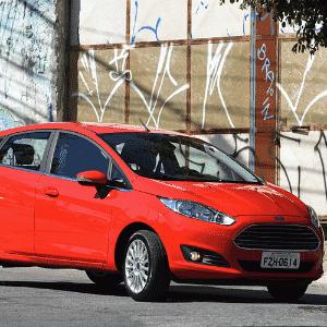 Ford Fiesta Titanium Plus 1.0 Ecoboost 2017 - Murilo Góes/UOL
