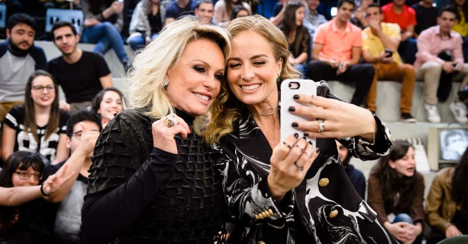 8.jul.2016 - Ana Maria Braga e Angélica no