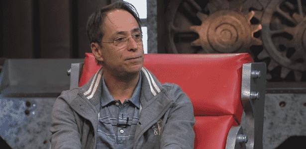 """Pedro Cardoso é entrevistado no programa """"A Máquina"""" desta terça (2), na TV Gazeta - Reprodução/TV Gazeta"""
