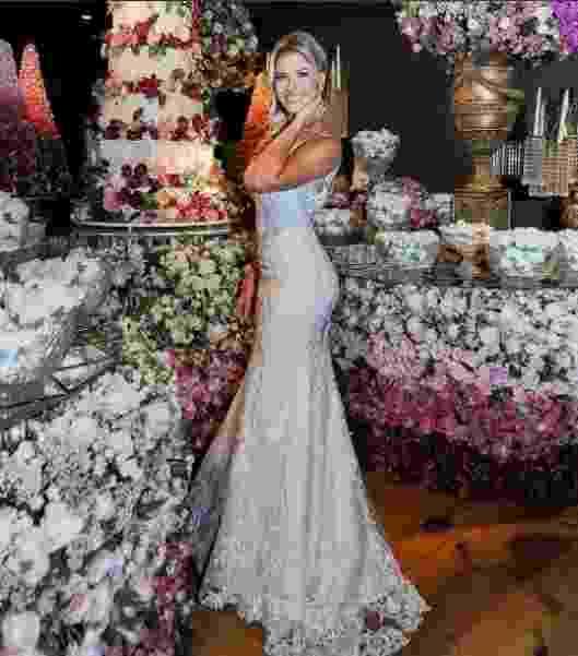 Vestido de noiva Andressa Suita Casamento Gusttavo Lima - Reprodução/ Instagram
