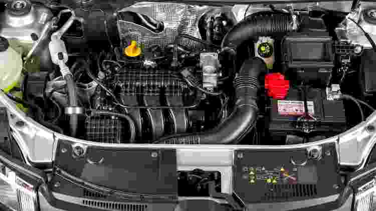 Renault Sandero 1.0 SCe 2017 motor - Divulgação - Divulgação