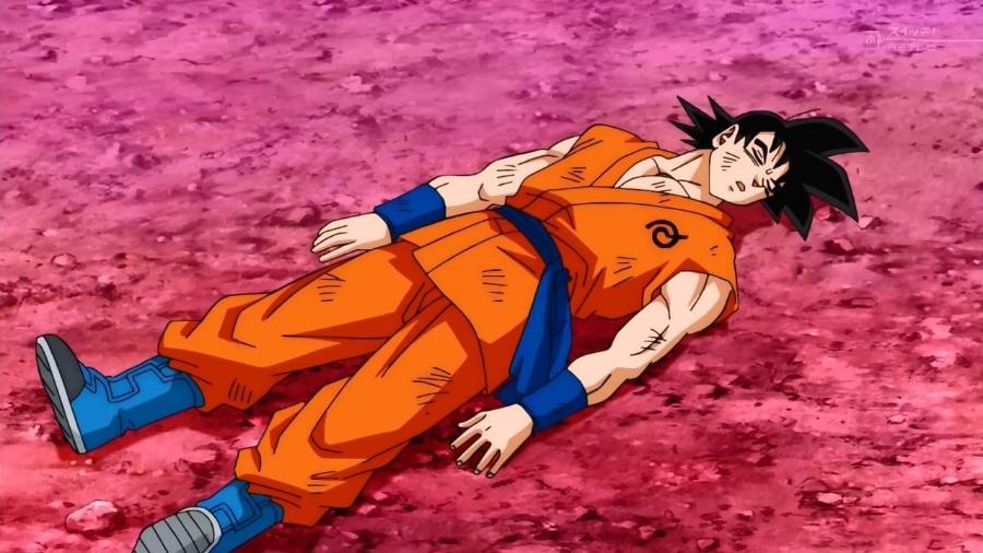 É assim que Goku ficaria após tentar brigar com qualquer um dos personagens desta lista - Reprodução/Toei Animation
