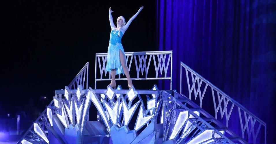 Cenas do espetáculo Disney On Ice na Barra da Tijuca, na Jeunesse Arena zona oeste do Rio de Janeiro