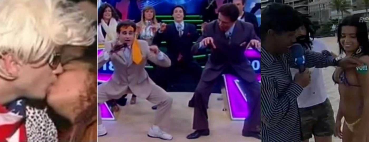 """Xupla, """"Dança do Siri"""" com Silvio Santos e """"Vô Num Vô"""" marcaram o """"Pânico"""" em 2007 - Montagem/Reprodução/RedeTV!/SBT"""