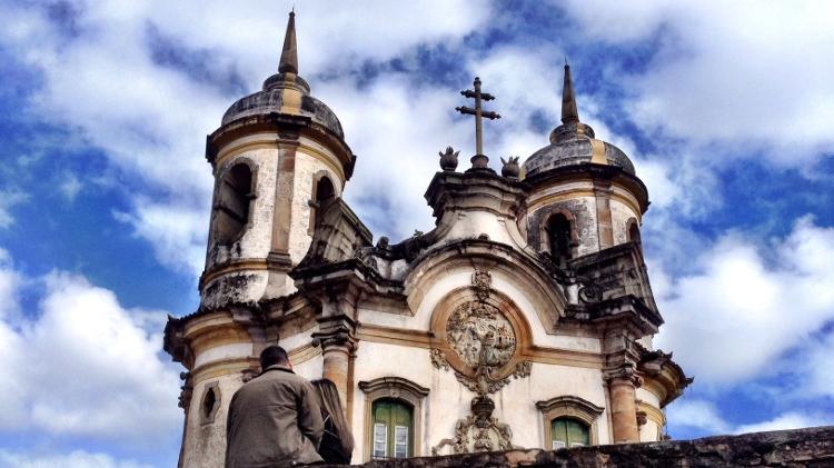 Igreja de São Francisco de Assis, em Ouro Preto (MG) - Marcel Vincenti/UOL