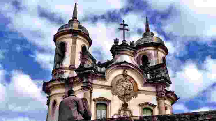 Igreja de São Francisco de Assis, em Ouro Preto (MG) - Marcel Vincenti/UOL - Marcel Vincenti/UOL