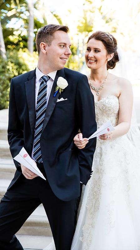 """O casamento na Disney foi inspirado pelo curta """"O Avião de Papel"""" - Reprodução/Disney Weddings"""