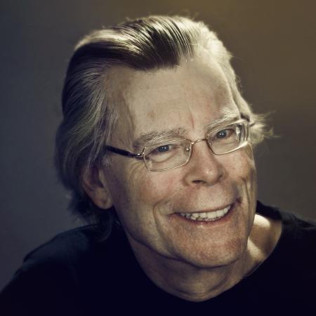 O escritor Stephen King - Reprodução