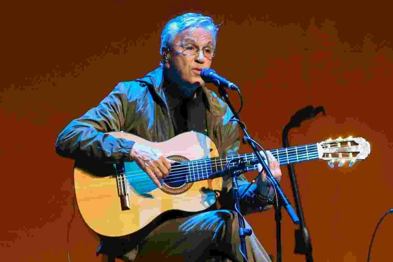 Caetano Veloso se apresenta em São Paulo em turnê em que divide o palco com os filhos Moreno, Zeca e Tom Veloso - Manuela Scarpa/Brazil News