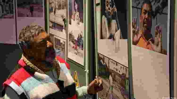 Odesson: história contada em fotos na exposição que acompanhou as sessões do festival - N. Pontes/DW