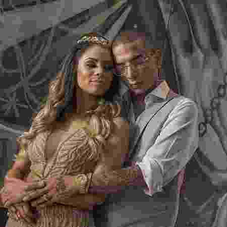 Lexa e Guimê festejaram noivado e cantora usou mais de R$ 200 mil em joias  - Arquivo pessoal/Divulgação