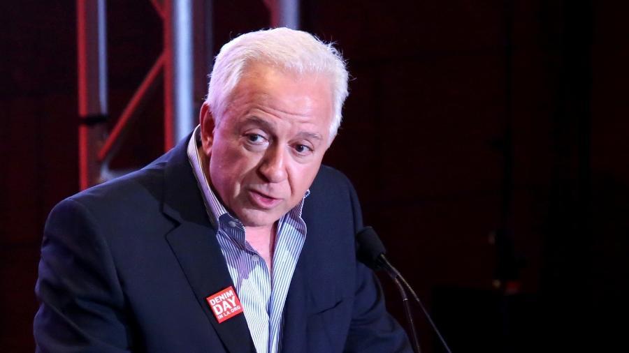 """Paul Marciano, cofundador da """"Guess"""" acusado de assédio por Kate Upton - Getty Images"""
