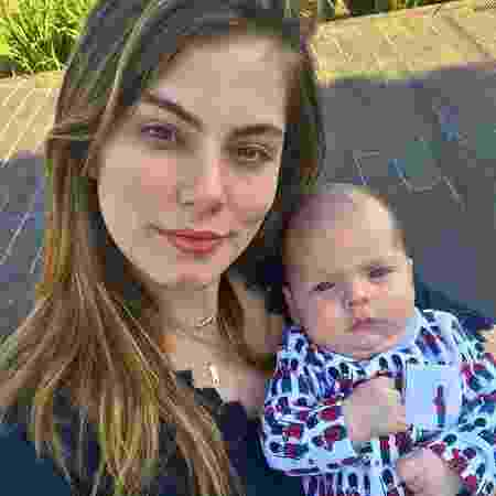 Bruna Hamú e o filho, Júlio - Reprodução/Instagram