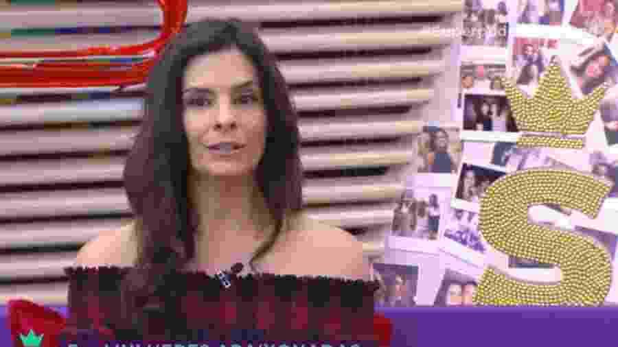 """Helena Ranaldi participou do """"Superpoderosas"""" dessa terça-feira (10) - Reprodução/Band"""