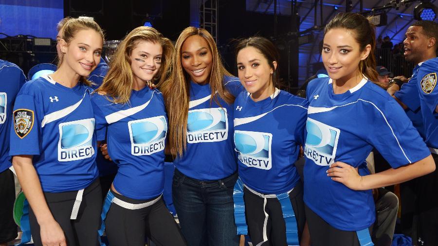 Meghan Markle e Serena Williams são super amigas - Michael Loccisano/Getty Images for DirecTV