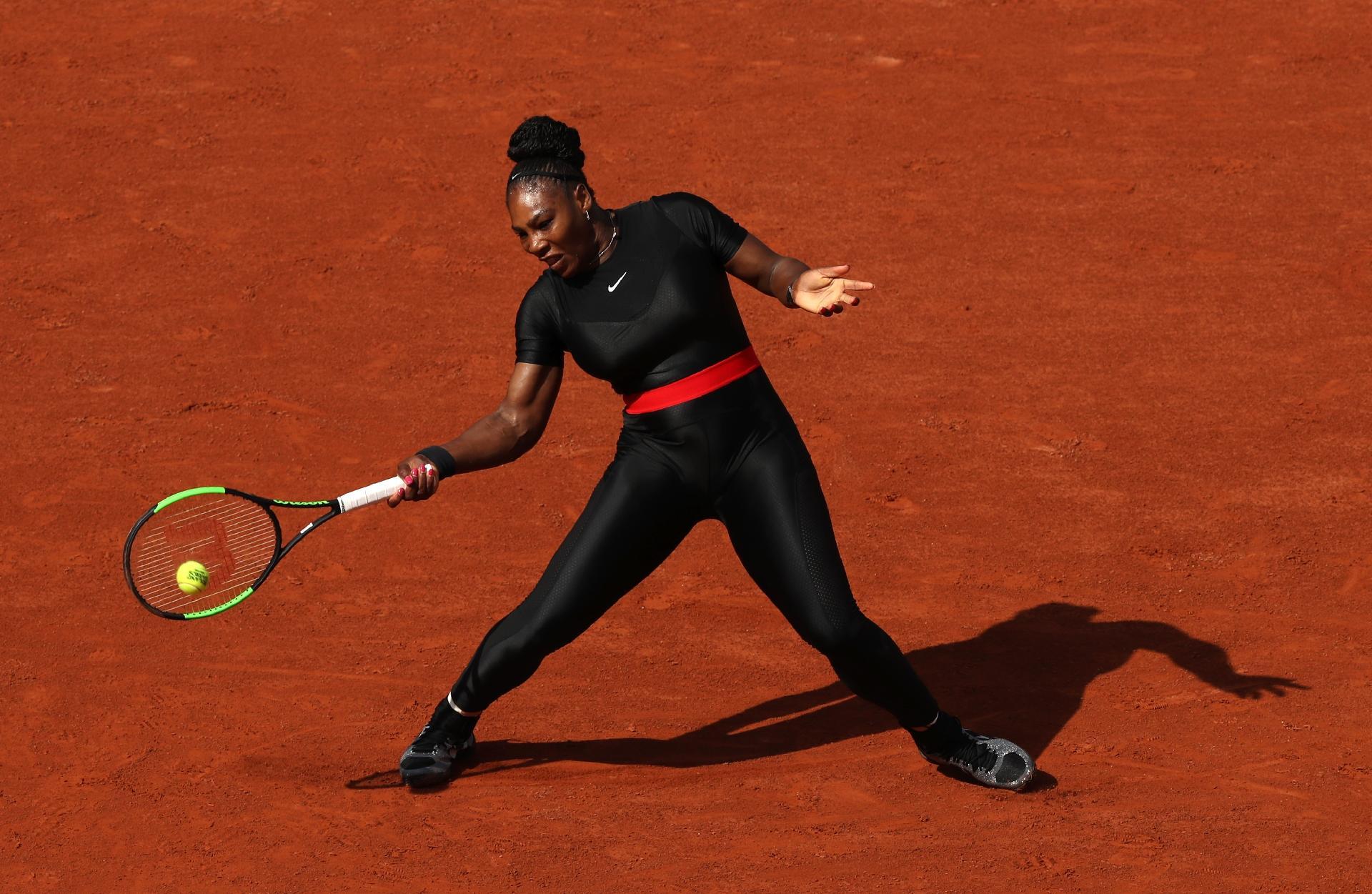 7a986bc84 Nike alfineta cartola de Roland Garros após proibição de roupa de Serena -  25/08/2018 - UOL Esporte