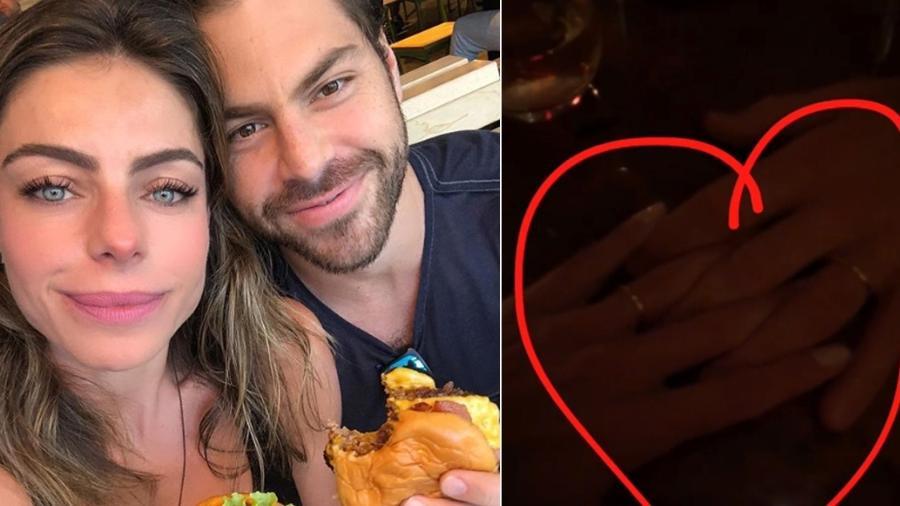 Entre hambúrgueres e alianças: Cicarelli se declara ao marido  - Reprodução/Instagram