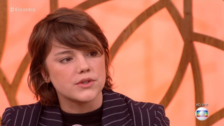Alice Wegmann revela que fez dieta quando entrou na TV, aos 15 anos - Reprodução/TV Globo