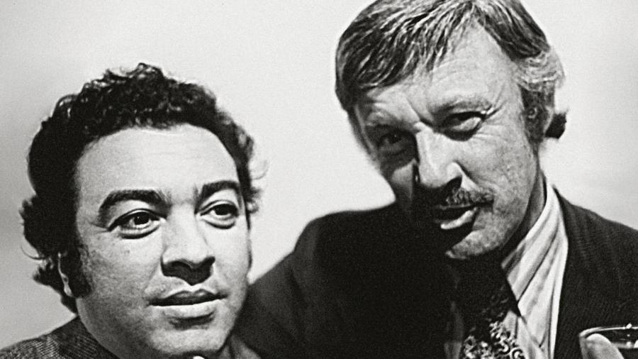 Mauricio de Sousa e Stan Lee em Nova York nos anos 1970 - Divulgação/Mauricio de Sousa